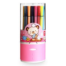亚博足球app下载36色颜色丰富 学生绘画用笔商城水彩笔儿童美术用品7068