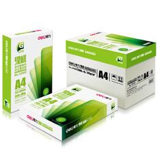 Deli 亚博足球app下载33066 A4绿标复印纸5包(500张/包) 80g/m2
