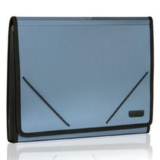 得力 5552 加厚 多层 文件袋 风琴包 商务 票据包 分类夹 资料包