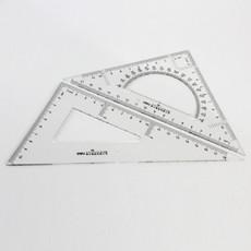 亚博足球app下载6420 塑料三角尺 20厘米三角板 小学生文具套尺绘图专用仪尺