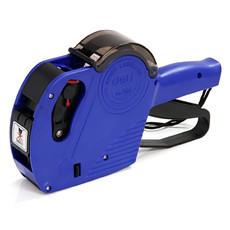 得力单排标价机 打价机7503商品价格标签打印机8位数字汉字打码机