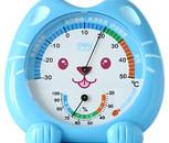 亚博足球app下载9020 快乐猫咪温湿度计 可爱卡通精致小巧温度计 湿度计