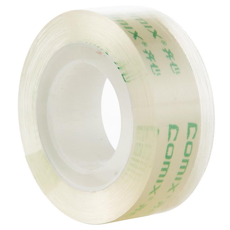 Comix/亚博yabo88下载 JF1830-8 办公家用搬家包装超透文具窄胶带18mm*30y