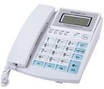 亚博yabo88下载 T158白色 办公用品 桌面座机 带显示屏电话 办公电话机