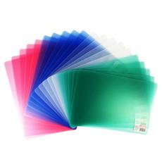 亚博足球app下载9349双色透明垫板 A4写字板0.6mm厚书写垫板学生文具