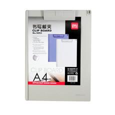 deli亚博足球app下载塑料书写板夹9253 文件夹垫板 A4 写字夹板
