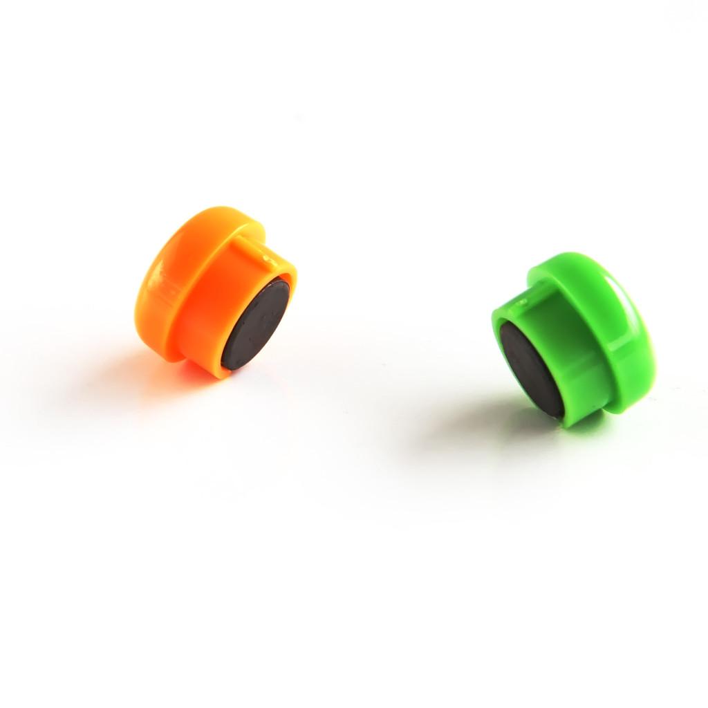 亚博足球app下载7823白板磁钉15mm磁扣磁钉磁吸彩色磁钉磁性办公教学12颗