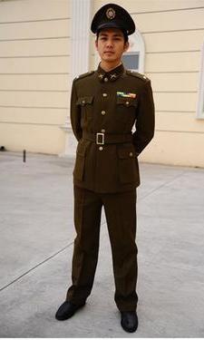 军队服装398