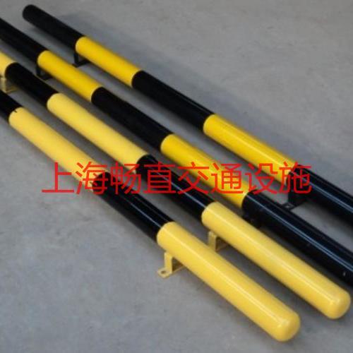 上海钢管挡车器 金属挡车器 铁管挡车杆 嘉善钢管车轮定位器   汽车安全挡车器