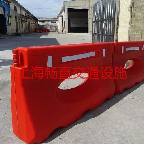 上海水马围栏 防撞型水马 两孔水马围栏 塑料防撞水马
