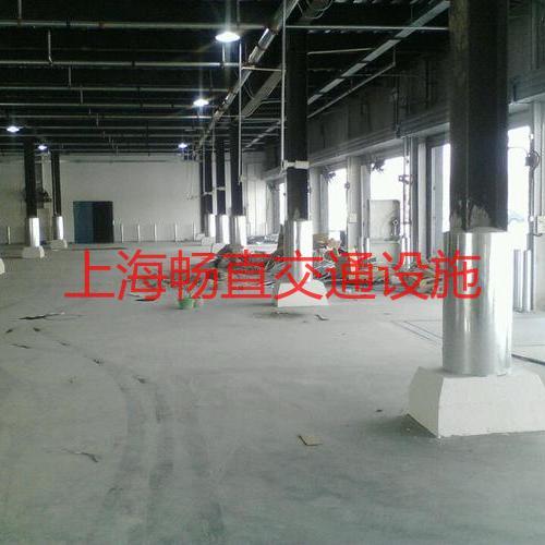 上海工字钢包角防撞柱 车间工字钢立柱护栏 仓库工字钢立柱防护防撞水泥柱