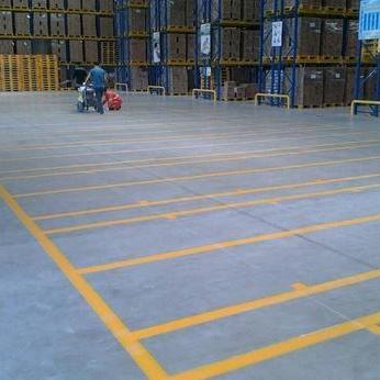 上海热熔车位划线 车间物流货位划线 热熔道路标线 热熔交通划线