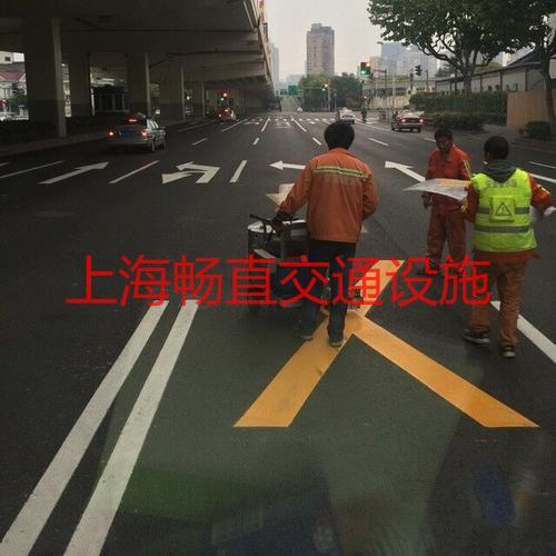 上海道路划线 公路交通划线 厂区道路划线 上海划线  园区道路划线
