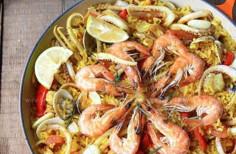 西班牙海鮮飯(地中海風情餐)
