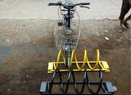 圆笼自行车架
