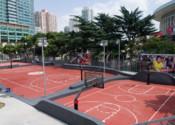 上体篮球公园园林绿化中标