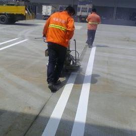 上海划线公司 上海划线单位 划线施工队 地面标线施工 热熔车位划线