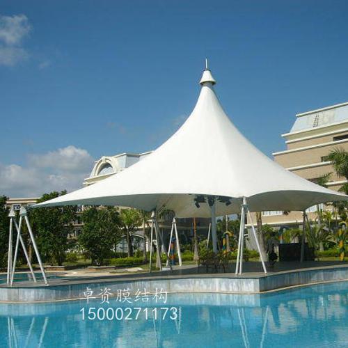 膜结构遮阳雨篷