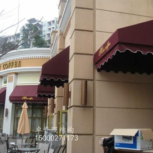 高档梯形遮阳雨篷