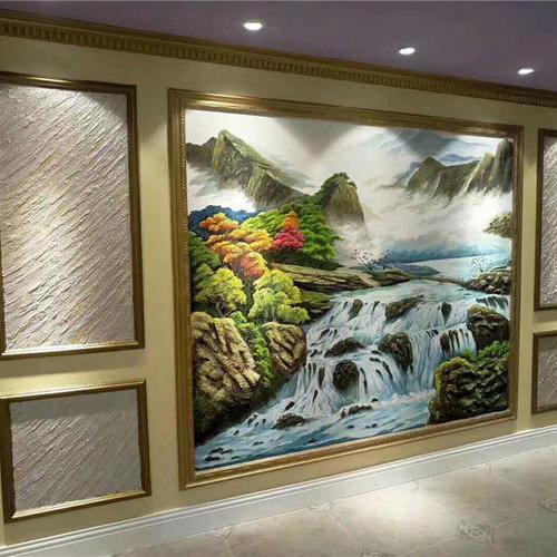 艺术涂料成为90后装修的壁材主流
