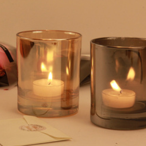 PAINTING GLASS CANDLE VOTIVE JARS