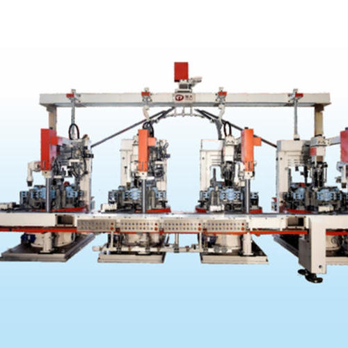 GLASS BOTTLES PRESSING MACHINES