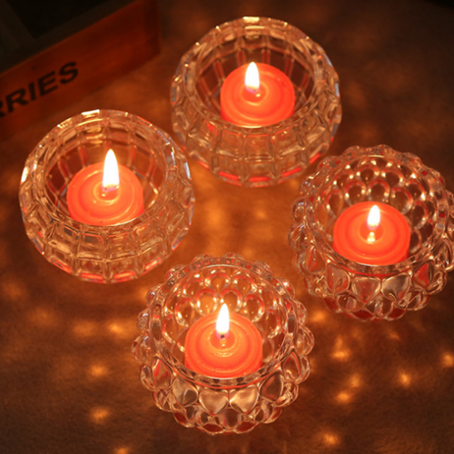 GLASS CANDLE VOTIVE CUPS