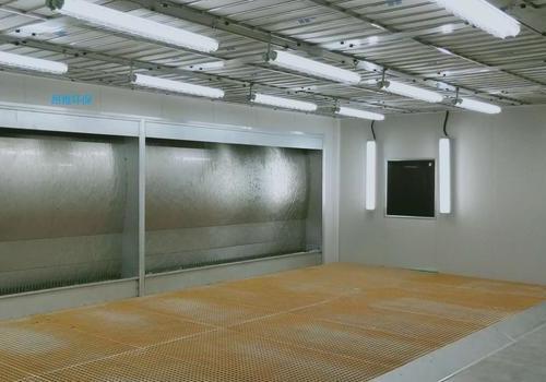 宁波水旋式喷漆房项目