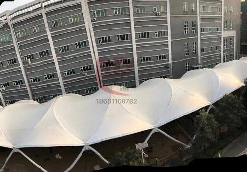【奥鼎】湖南益阳奥士康广场膜结构 1836平方米