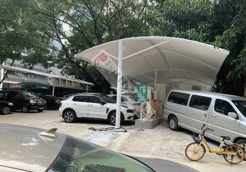 深圳市福田先科大院充电桩停车棚