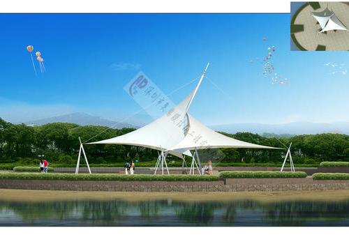 新疆莎车儿童景观公园膜结构