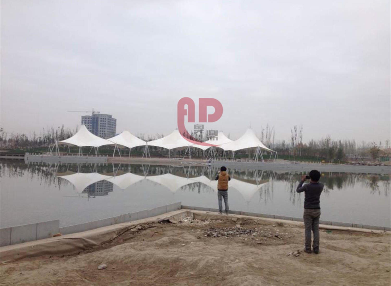 【奥鼎】新疆莎车儿童公园景观张拉膜结构