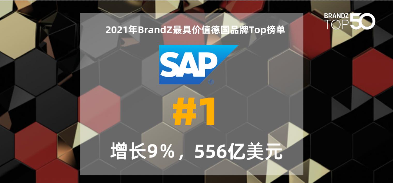 2021年 BrandZ *具价值德国品牌50强