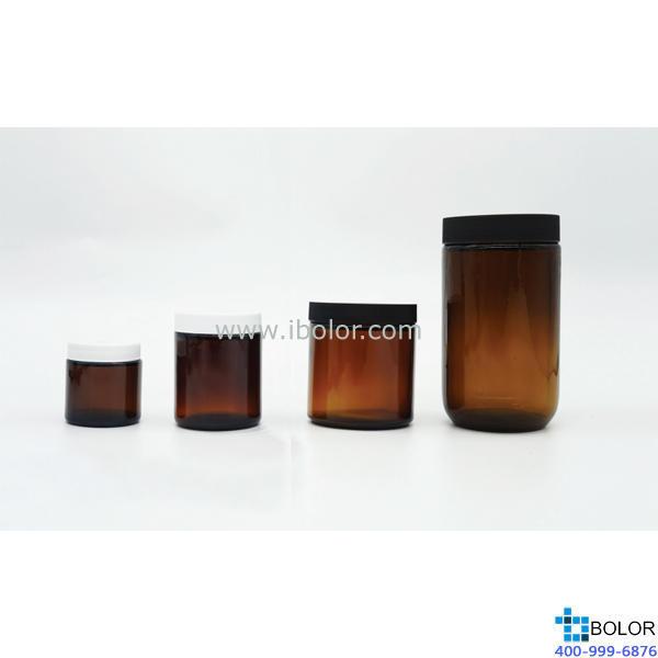 500mL土壤有机物采样瓶 PTFE垫片 棕色 BOXIN/铂歆 02.009.0500