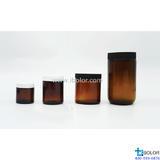 500mL土壤有機物采樣瓶 PTFE墊片 棕色 BOXIN/鉑歆 02.009.0500