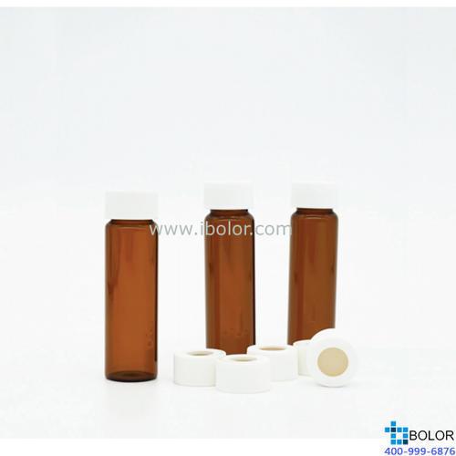 白色PP开孔盖;带3.0mm四氟/硅胶垫片;100个/包 02.007.SP3003