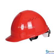 3型聚丙烯安全帽 红色 DELTAPLUS/代尔塔