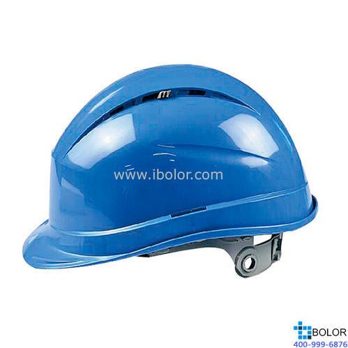 石英1型聚丙烯安全帽 藍色 102012
