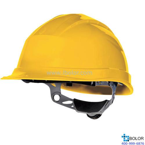 3型聚丙烯安全帽 黄色 DELTAPLUS/代尔塔