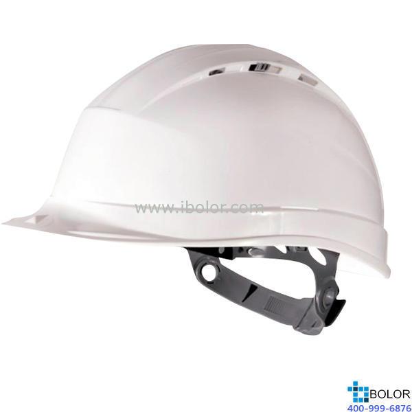 石英1型聚丙烯安全帽 红色  102012 DELTAPLUS/代尔塔