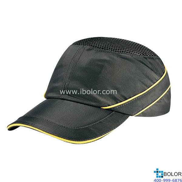 轻型防冲击安全帽 灰色  102110