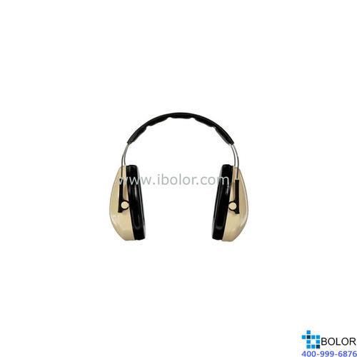 3M 头戴式耳罩,H6A,PELTOR OPTIME 95系列 白黑
