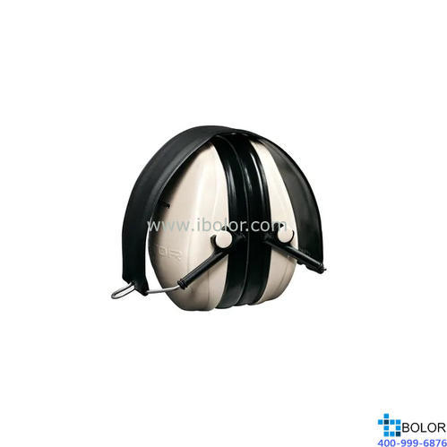 3M 頭戴式耳罩,H6F,PELTOR OPTIME 95系列 折疊式 米黃色