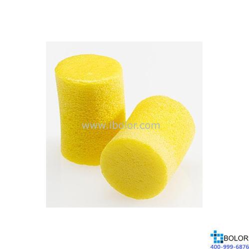 3M 一次性耳塞,312-1201(312-1213升級包裝),Classic 圓柱型PVC材質 不帶線,200副/盒