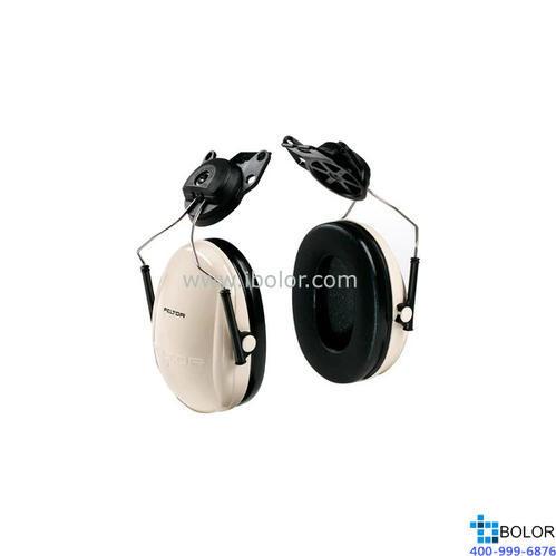 3M 掛帽式耳罩,H6P3E,PELTOR OPTIME 95系列 白黑
