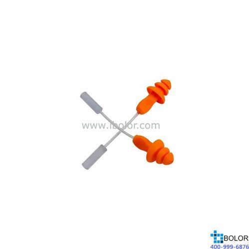 3M 可重復使用耳塞,1270,圣誕樹型硅膠材質 帶線,100副/盒