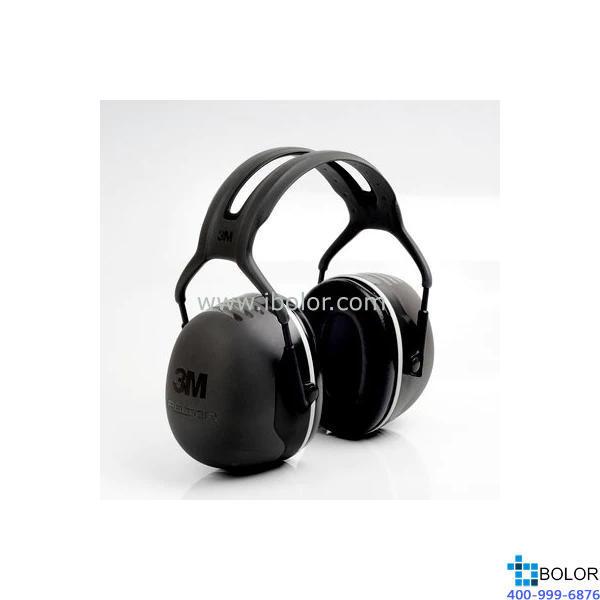 3M 頭戴式耳罩,X5A,PELTOR X系列 深灰色