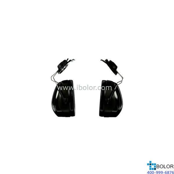 3M 掛帽式耳罩,H7P3E,PELTOR OPTIME 101系列 黑色