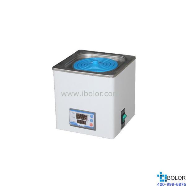 恒温水浴锅 单孔;室温+5~99.9℃ ;内胆尺寸:160*160*90mm