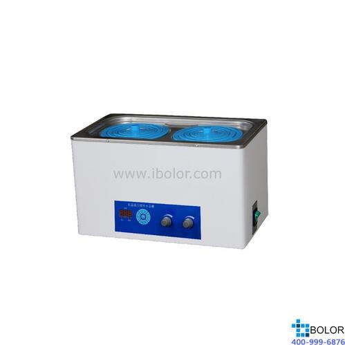 磁力搅拌水浴锅 温度范围:+5~100℃;搅拌工位:两个工位;内胆尺寸:300×160×140